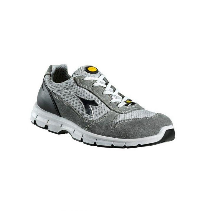 Diadora Run Textile S1P SRC ESD Védőcipő - szürke