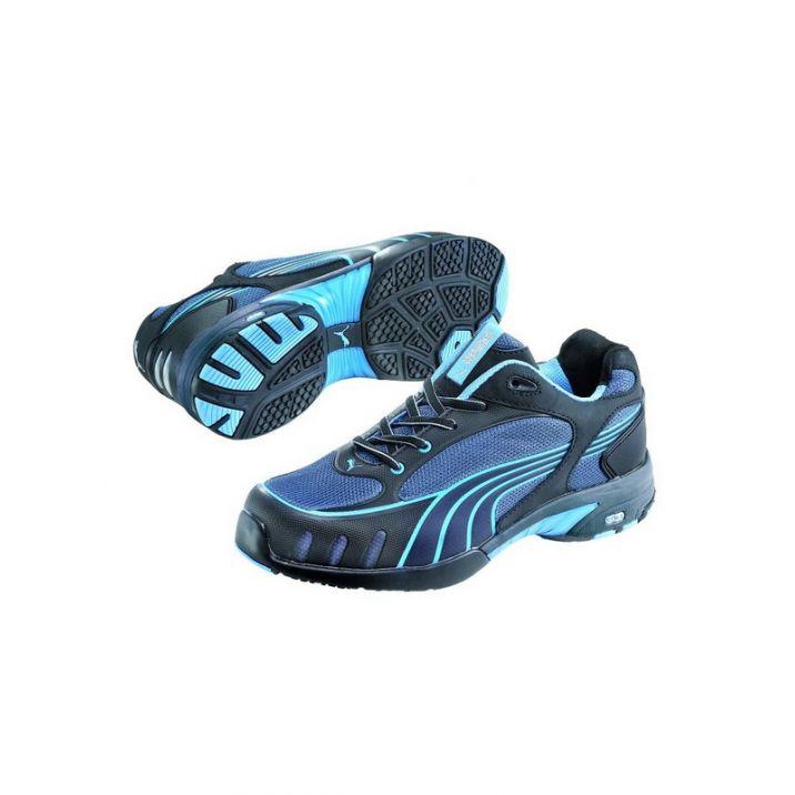 Puma Fuse Motion Blue Low S1 HRO SRC Női Védőcipő