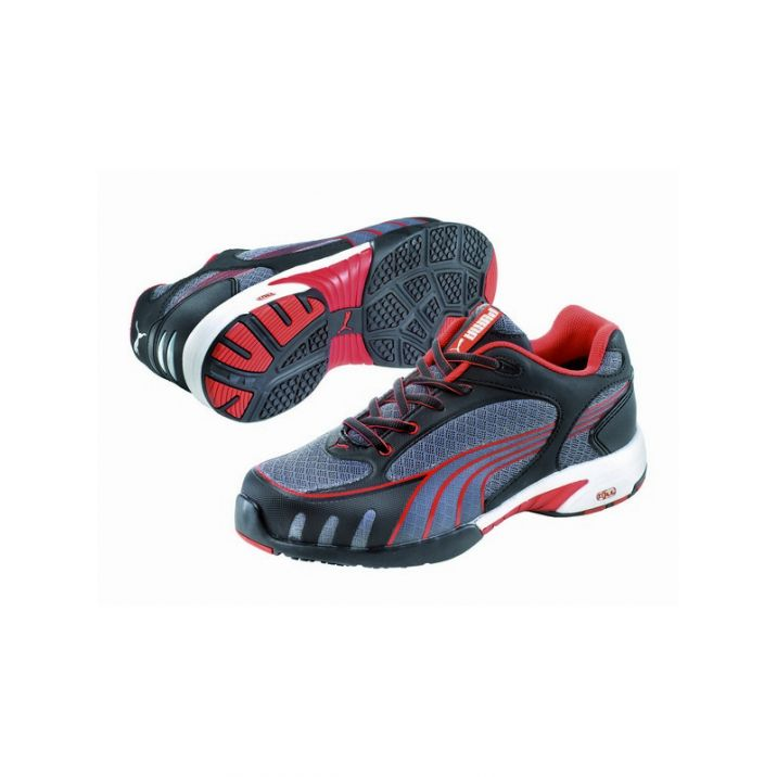 Puma Fuse Motion Red Low S1 HRO Női Védőcipő