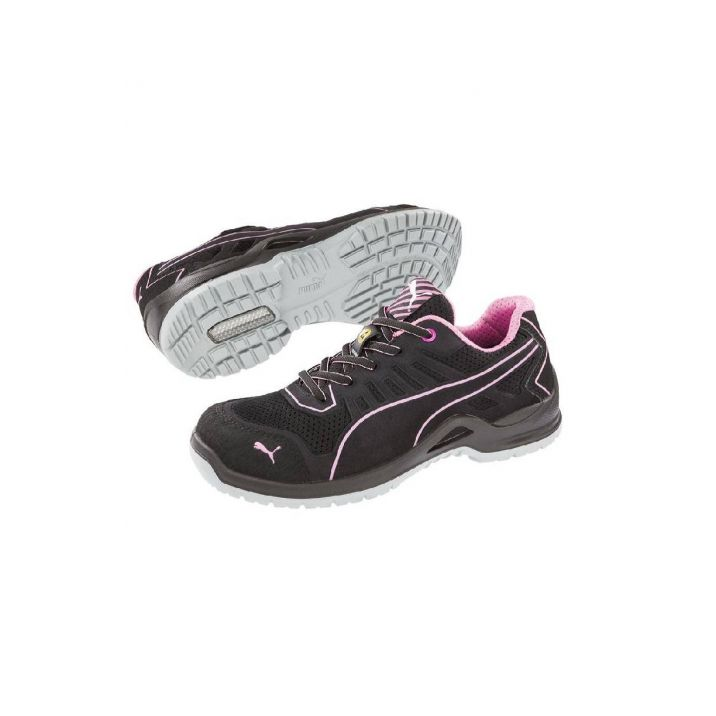 Puma Fuse TC Pink Wns Low S1P ESD SRC női védőcipő