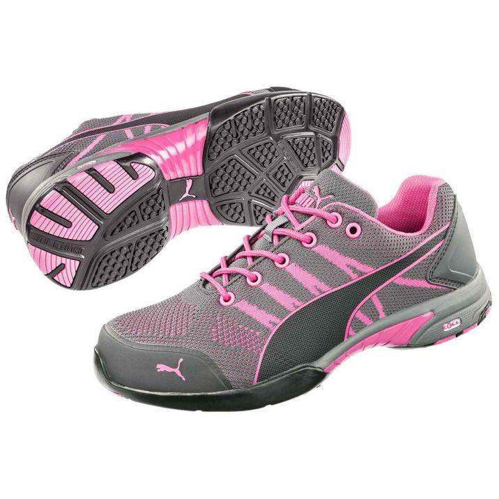 Puma Celerity Knit Pink Wns S1P HRO SRC női védőcipő