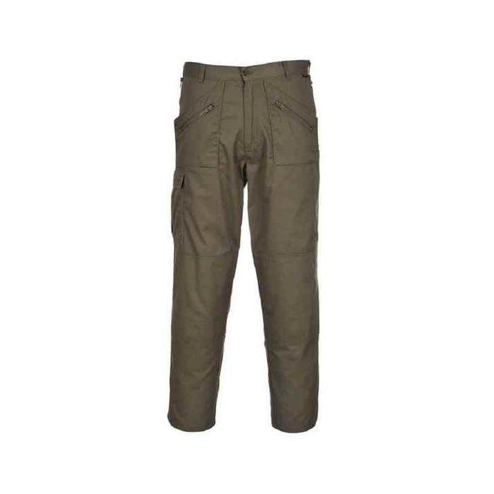 A Portwest munkaruházat márka sikerét és minőségét valószínűleg az Action nadrág népszerűsége jelzi a leginkább. Egyedi szabásnak, a sokzsebes kialakításnak, és természetesen a speciális Kingsmill alapanyagának köszönhetően azonban nemcsak munkaruhaként, de szabadidős viseletként is beválik.